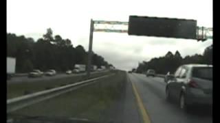 Dashcam video of fatal I-85 chase, crash