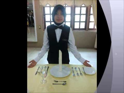 Russian Ala-carte Table Setting : Table dhote and A la Carte Setting dhk2a - YouTube
