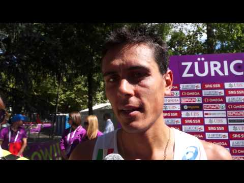 Daniele Meucci ITA Gold Medal Winner Marathon Men