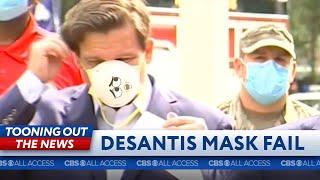 Florida Governor Ron DeSantis' Mask Fail