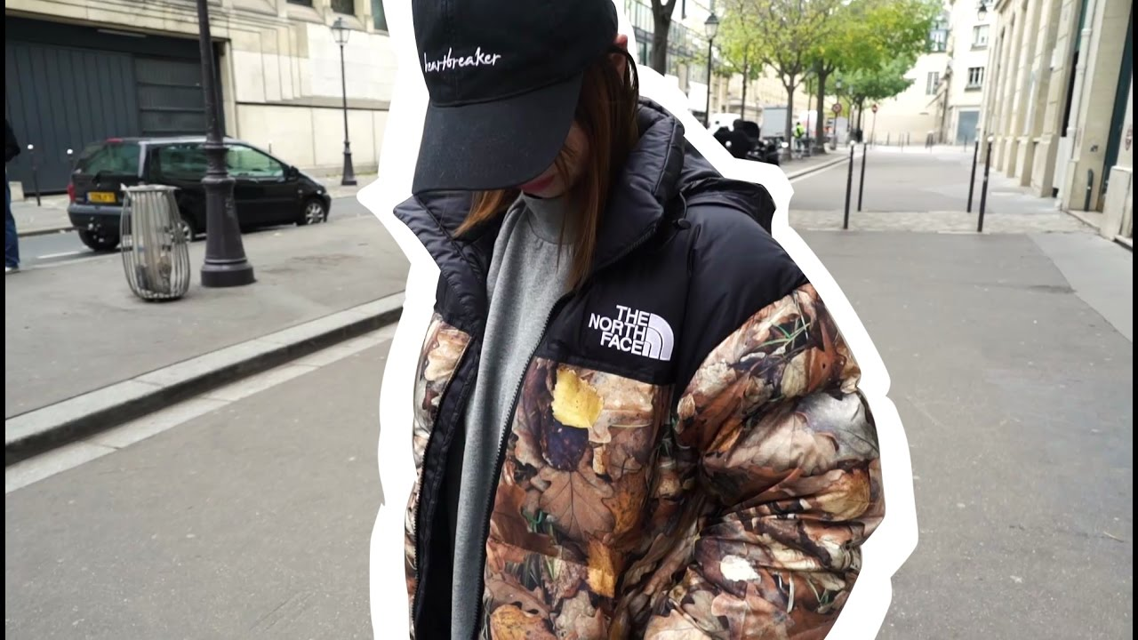 the north face x supreme 2016 best streetstyle paris items 17 11 2016 youtube. Black Bedroom Furniture Sets. Home Design Ideas