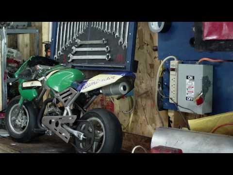 47cc / 49cc Mini Pocket Bike Repair / Misc