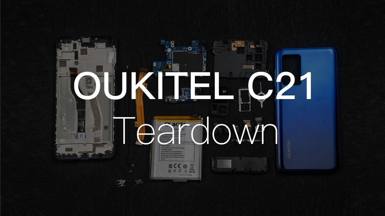 OUKITEL C21 Teardown