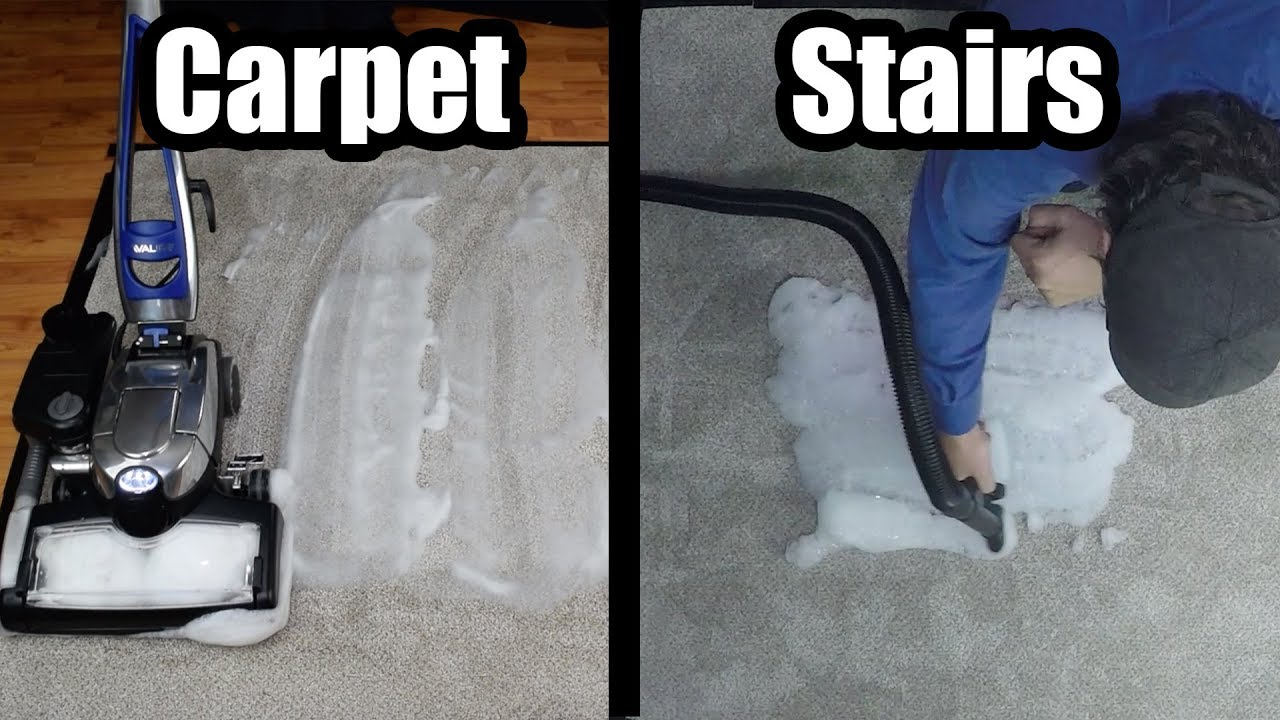 How To Shampoo Carpet Stairs Furniture W Kirby Avalir Sentria G Series Vacuum Cleaner