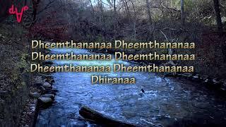 Nadhiye Nadhiye   lyrics  Dare Lazy