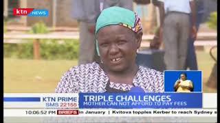 Triple challenge: Triplets in Elgeyo -Marakwet join same school; mother unable to afford fees