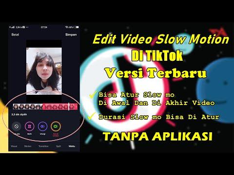 Cara Edit Video Slow Motion Di TikTok Versi Terbaru Tanpa Aplikasi