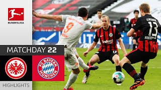 SGE seal victory over Bayern | Frankfurt - Bayern München | 2-1 | All Goals | Matchday 22