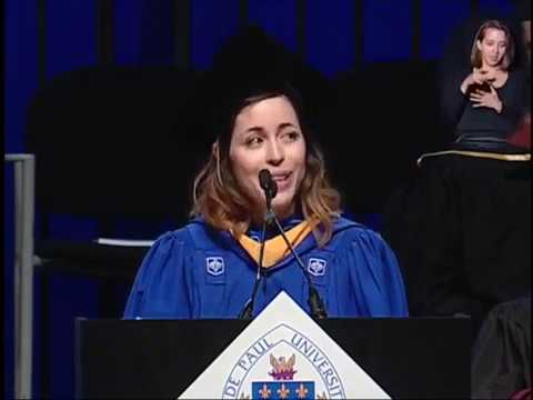 DePaul University - 2017 Commencement Speech CDM