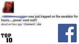 Top 10 Dumbest Facebook Posts