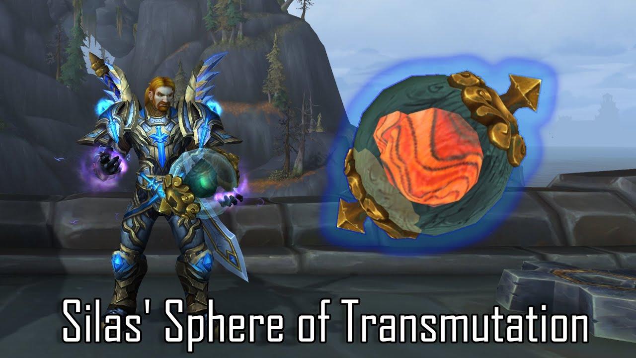 Wow silas sphäre der transmutation