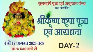 Shri Krishna Puja -2     Anand Dham Ashram   5 August  2020    Dhyan