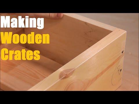 Woodwork - #5 DIY Wooden Crate