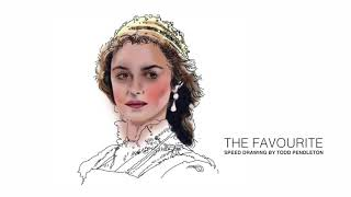 OKCMOA presents speed drawing: The Favourite