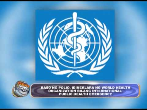 World Health Organization declared Polio as International Public Health Emergency
