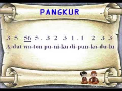 Pangkur Gagad Kasmaran (Laras Pelog Pathet Nem)