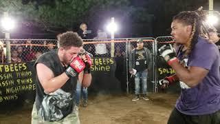WRIGHTEOUS VS DREADGOD MMA ALTERNATE ANGLES