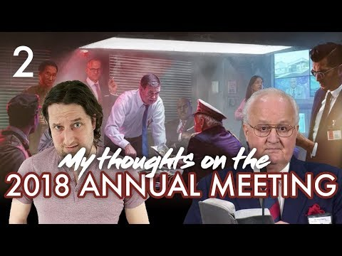 My thoughts on the 2018 Annual Meeting - Part 2 - YouTube