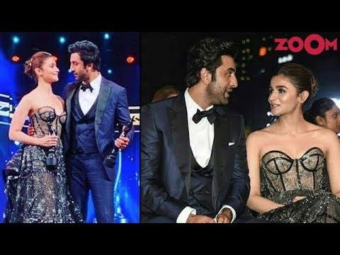 Alia Bhatt DECLARES her love for Ranbir Kapoor at Filmfare Awards 2019