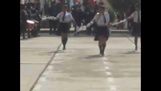 EL DORADO-PRESENTACION DE LA ESCOLTA Y ESTADO MAYOR