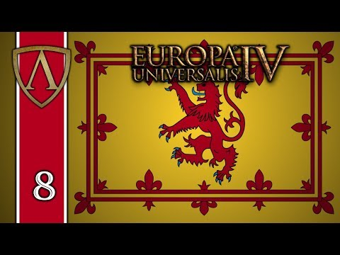 Lets Play Europa Universalis IV  Rule Britannia  Scotland  Part 8