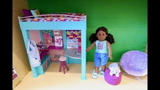Setting Up American Girl Doll Loft Bed ~ NEW