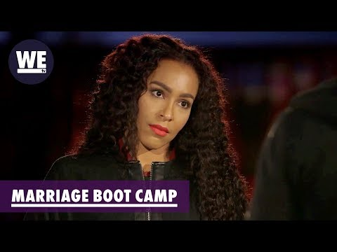 """Exclusive Clip: Marriage Boot Camp: Amina Begs Peter Gunz: """"Make Me Number 1!!"""""""