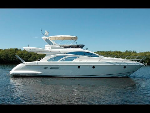 2009 Azimut 50 Fly Power Boat For Sale Miami Fl Palm