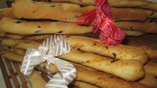 Рецепт - Итальянские хлебные палочки