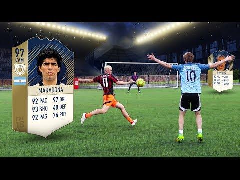 FOOTBALL vs FIFA 18