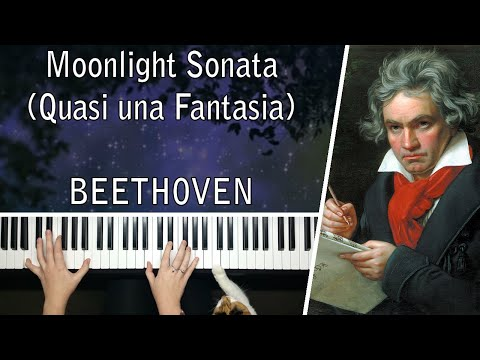 Beethoven's Moonlight Sonata (Quasi una Fantasia) No 14 Op 27