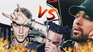 EMINEM - KILLSHOT | REACTION (AUDIO GOES OUT DUE TO COPYRIGHT) 😞