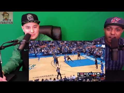 Cavs vs Thunder   Reaction   NBA Game Highlights