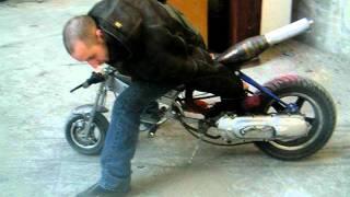 scooter booster pocket bike moteur racing dragscoot dragster kit proto delire 3