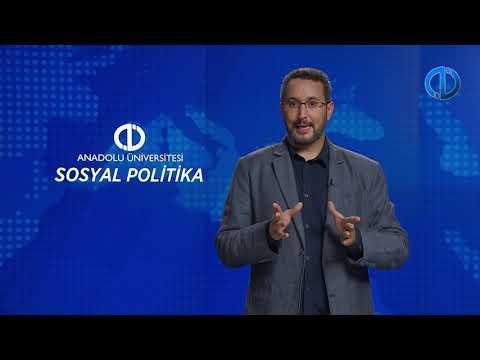 SOSYAL POLİTİKA I - Ünite 2 Konu Anlatımı 1