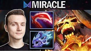NIGMA.MIRACLE CLINKZ - 22 MINS GG - DOTA 2 7.23F GAMEPLAY