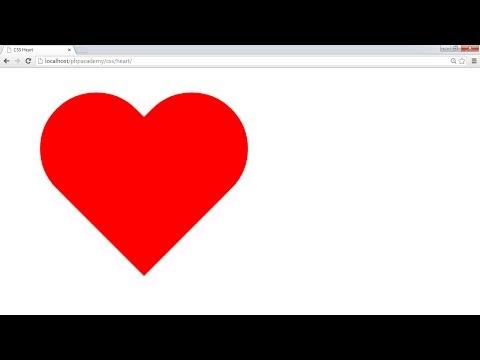 Create A CSS Heart