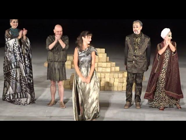 Η «Ελένη» του Ευριπίδη - ΚΘΒΕ - Έμιλυ Κολιανδρή - Χειροκρότημα - StellasView.gr