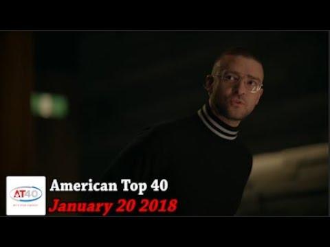 American Top 40 ~ January 20, 2018