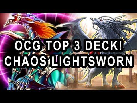 OCG TOP 3 LIGHTSWORN CHAOS TWILIGHT DECK! 3X BLS! AND CHAOS EMP DRAGON! GAME PLAY PLUS DECK PROFILE!