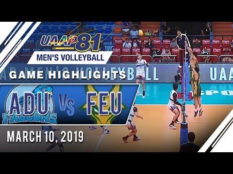 UAAP 81 MV: AdU vs. FEU | Game Highlights | March 10, 2019