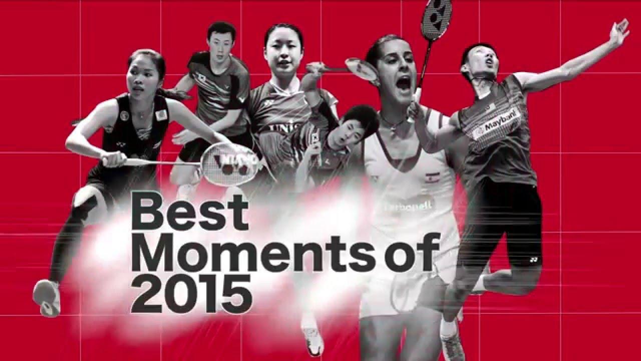 BWF Best Moments of 2015 | Badminton