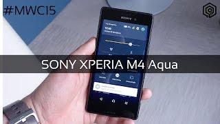 Sony Xperia M4 Aqua   Toma de contacto en el #MWC15
