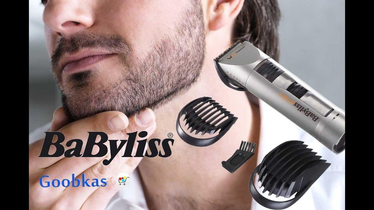 Машинка для стрижки BABYLISS E780E - YouTube 929ed51d24