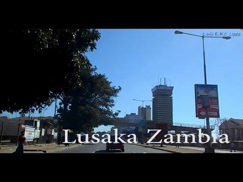 DashCam Lusaka Zambia in a Taxi 16th June 2016   #01