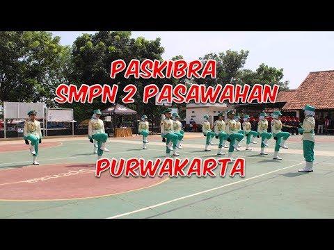 paskibra-smpn-2-pasawahan-juara-caraka-1---lpbb-&-variasi-formasi-tk-kab.-purwakarta-2019