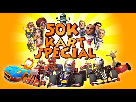 50k Subscriber Special - SH**TY KART GAMES