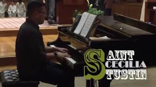 Young Pianist Lam Le - Ca đoàn Teresa Hài Đồng Giêsu  Saint Cecilia Catholic Tustin 2018