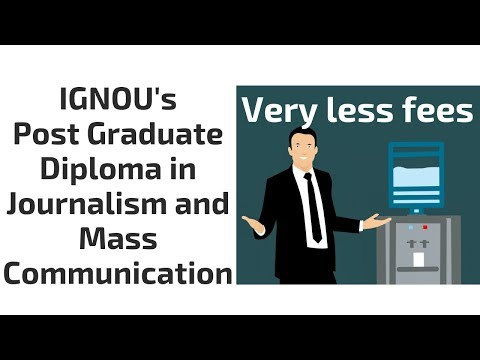 IGNOU's Post Graduate Diploma In Journalism And Mass Communication Course Details In Hindi
