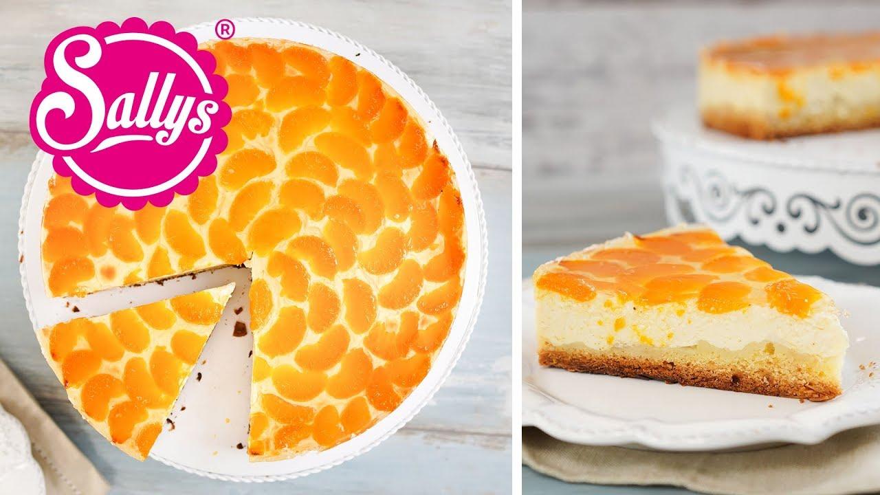 Mandarinen Schmand Kuchen Mit Vanille Genialem Guss Youtube